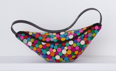 Felt Polka-dot Purse, Accessories, Apparel & Accessories - The Museum Shop of The Art Institute of Chicago