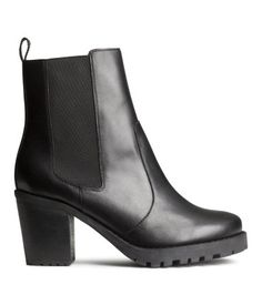 Leather Boots | H&M US $69.95 (Sale $39.95)
