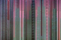 German photographer Michael Wolf's series, 'Architecture of Density', captures Hong Kong's crowded urban landscape. Pictured is 'Architecture of Density Courtesy of Flowers Gallery © Michael Wolf Hong Kong Architecture, Urban Architecture, Space Architecture, Amazing Architecture, Contemporary Architecture, Architecture Details, Contemporary Art, Michael Wolf, World Press Photo