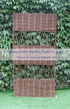 Hope you are doing well. I would like to introduce our ECO-FRIENDLY willow panel, with good quality and pretty competitive price.  Please do not hesitate to contact me if you have queries. Jining Golden Building Trade Co., Ltd. Farm of PLA, Jinqing Line, Qinghe Town, Yutai County, Jining City, Shandong Province 272348, China. Tel: 86 537 6019199/6017111 Fax:86 537 6019299/6017222 Website: www.jnjzgm.com Leslie Wong Managing Director Mobile phone:  86 15854629777                 86…