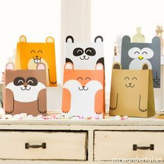 Animals' bags #stationery #lovely_animals