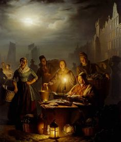 Classical Street Paintings By Petrus Van Schendel - 121Clicks.com