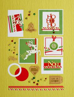 Make this set of cards with our Christmas Special 2014 issue...