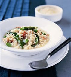 Jamón and Greens Risotto #food #recipe