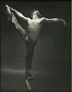 "Ballet: ""I do not try to dance better than anyone else. I only try to to dance better than myself."" -Mikhail Baryshnikov"