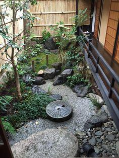 Anese Garden N B Use Heavy Black Rock To Jumpstart Inspiration On Side Yard