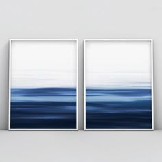 Abstract Ocean Painting, Blue Painting, Abstract Watercolor, Abstract Landscape, Watercolor Paintings, Abstract Art Blue, Abstract Paintings, Field Paint, Diy Artwork