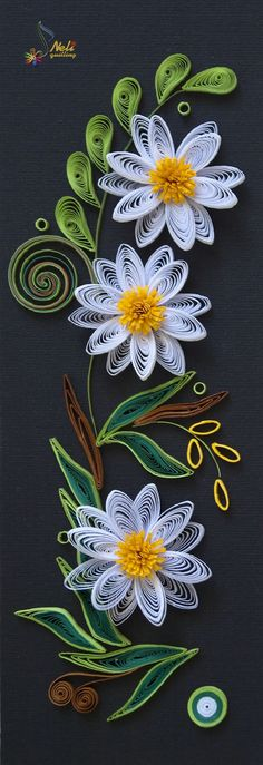 Neli is a talented quilling artist from Bulgaria. Her unique quilling cards bring joy to people around the world. Neli Quilling, Paper Quilling Patterns, Origami And Quilling, Quilled Paper Art, Quilling Paper Craft, Paper Crafts, Quilling Tutorial, Quiling Paper, Quilled Creations
