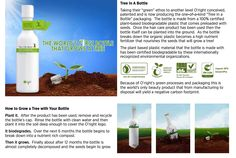 The first revolutionary shampoo bottle that grows a tree! Talk about negative carbon footprint!