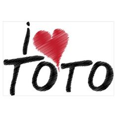 I Love Toto (Wizard of Oz) Poster