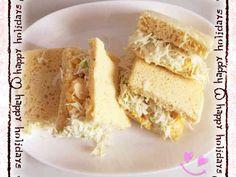 【糖質制限】おから蒸しパンでサンドイッチの画像
