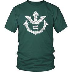 c20020acc22 Super Saiyan - Vegeta Symbol - Men Short Sleeve T Shirt - TL01237SS - Front  Dbz