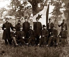 General William Hawley and staff Here we present a stunning image of Washington, District of Columbia. General William Hawley and staff. It was taken in 1865.