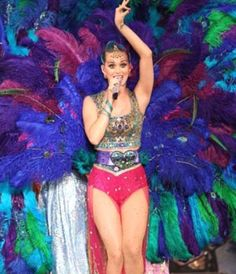 How to Make a Katy Perry Peacock Costume #stepbystep
