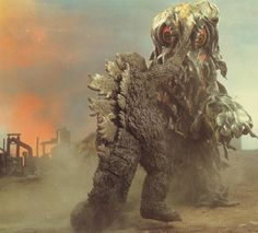 Godzilla Vs. Hedorah 'The Smog Monster'
