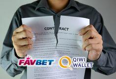 Букмекерская контора FavBet расторгла договор с QIWI.  Платежная система QIWI и букмекерская контора FavBet разорвали договор о сотрудничестве. Главной причиной прекращения сотрудничества стороны называют ограничения, введенные государственным регулятором.