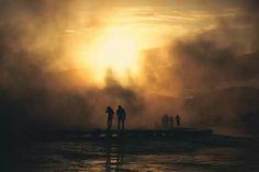 Parc de Yellowstone par Tim Davis
