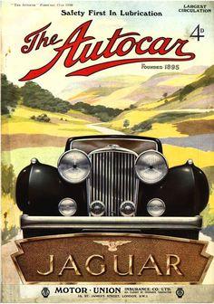 Autocar Magazine Cover February 1938 Jaguar