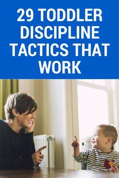 No tricks! These toddler discipline tactics ACTUALLY work.
