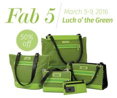 Save 50% off of the Miche Teri Collection for a limited time only! #stpatricksday #michefashion #springfashion