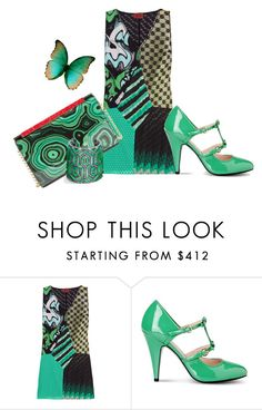 """""""Untitled #4853"""" by lovetodrinktea ❤ liked on Polyvore featuring Missoni, Boutique Moschino and Christian Louboutin"""