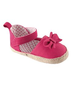 Take a look at this Pink Bow Sandal - Infant today!