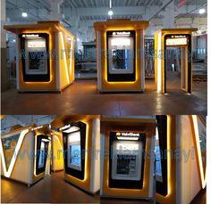 ATM Kiosk# Banking Kiosk # ATM Design# ATM Kiosk Fabrication# ATM Cabin# Bank…