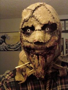 Picture of Scarecrow Halloween Mask