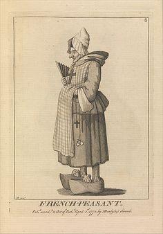 French Peasant After Sir Henry William Bunbury (British, Mildenhall, Suffolk 1750–1811 Keswick, Cumberland) Publisher: Matthew Darl...