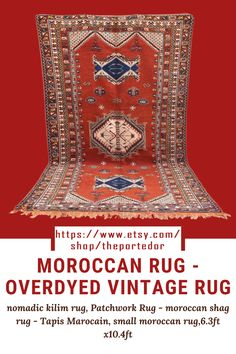 Moroccan Rug - overdyed vintage rug! Colorful moroccan rugs, moroccan rug living room, vintage moroccan rugs, moroccan rug bedroom, pink moroccan rug, black and white moroccan rug, white moroccan rug, red moroccan rug, grey moroccan rug, moroccan rug decor, round moroccan rug, moroccan rug wall hanging, boho moroccan rug, moroccan rug office, plush moroccan rug, small moroccan rug, outdoor moroccan rug. #vintagemoroccanrugs #moroccanrugbedroom #whitemoroccanrug #modernmoroccanrug Moroccan Berber Rug, Rug Inspiration, Rug Texture, Patchwork Rugs, Rug Shapes, Wool Area Rugs, Rugs In Living Room, Vintage Rugs, Plush