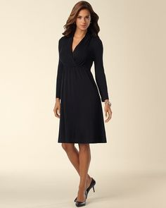 Soma Intimates Drape Front Dress #somaintimates - Maybe?