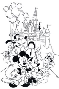 Free Disney Coloring Page Printable