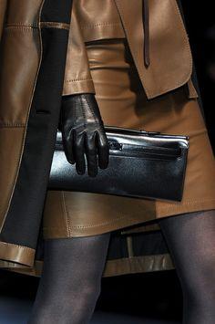 Hermès at Paris Fashion Week Fall 2010  #Clutches #Trend Leather