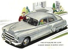 1952 Chevrolet Styleline Deluxe 2-Door Sedan