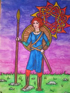 Scáthach, ancient Scottish warrior-woman and instructor