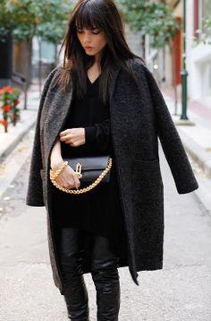 nice one Evangelie. Paris. #EvangelieSmyrniotaki #StyleHeroine