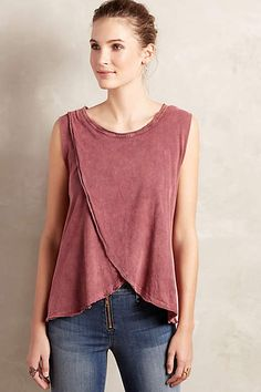Shop the crossover tank and more anthropologie at anthropolo Nursing Wear, Nursing Dress, Nursing Tops, Nursing Clothes, Breastfeeding Shirt, Breastfeeding Fashion, Fashion Moda, Diy Fashion, Ideias Fashion