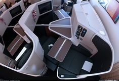 Asiento en business class del 777 de Oneworld (Cathay Pacific Airways)   Boeing 777-367/ER