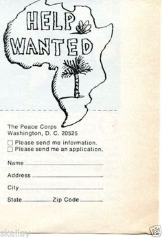 1970-small-Print-Ad-of-The-Peace-Corps-Washington-DC-HELP-WANTED-Africa
