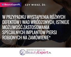 Dzięki temu, niezależnie od defektów, Twoje piersi mogą wyglądać pięknie! :) #BeautyExpert #PowiększaniePiersi #OperacjePlastyczne #ChirurgiaPlastyczna