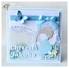 zzzzz4_2 Aliexpress Dies, Paper Crafts Origami, Baby Cards, Cute Cards, Christening, Diy And Crafts, Scrapbook, Frame, Wedding