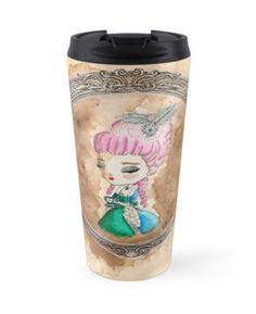 Marie Antoinette with Tea travel mug