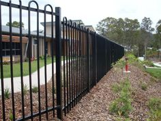 Commercial fencing is built for property developments, Educational facilities, and Government projects. The fences include security, acoustic and chainwire. Property Development, Security Fencing, Fence, Commercial, Outdoor Structures, Exterior, Steel, Building, Outdoor Decor