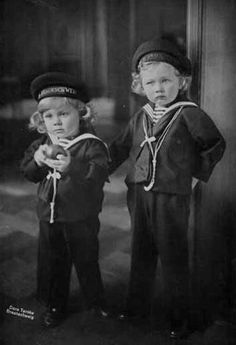 Their Royal Highnesses Prince Ernst August (1914–1987) and Prince George Wilhelm (1915–2006) of Hanover