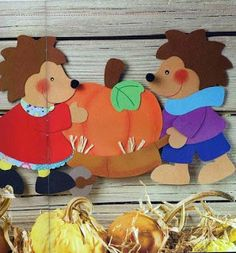 Photos: – This Great Pins Autumn Crafts, Autumn Art, Autumn Activities, Craft Activities, Diy And Crafts, Crafts For Kids, Paper Crafts, Birthday Charts, Kindergarten Fun