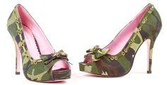 Camo Heels <3 pretty cute