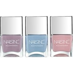 NAILS INC Vitamin Me Collection (2.400 RUB) ❤ liked on Polyvore featuring beauty products and makeup