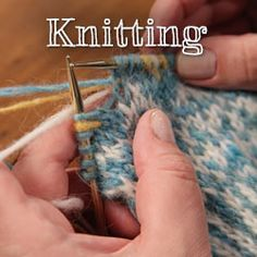 Learn How to Knit from Expert Instructors and Designers on Craftsy! - Start knitting simple socks and move onto making sweaters. Begin with knitting basics and end with custom fits and Kitchener stitches. - via @Craftsy