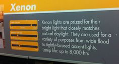 Xenon lights for under cabinet lighting. Available at Home Depot.