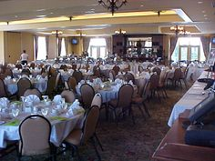 Our banquet room.